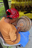 Traditional Basket Weaving - Roseau, Dominica