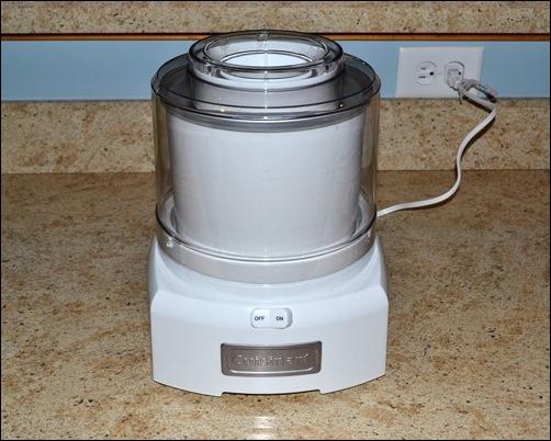 Cuisinart countertop ice cream maker