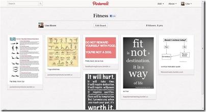 Pinterest - Fitness