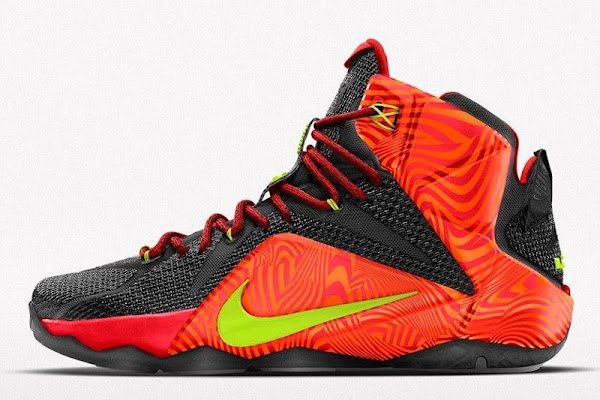 Nike Adds 8220Court Vision8221 Graphic to NIKEiD LeBron XII