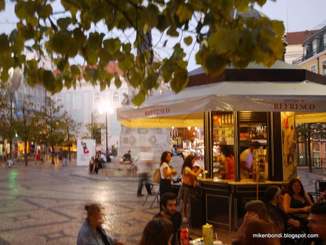 evening in the square