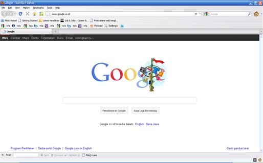 google 17 agustus 20011