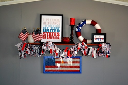 under 10 4th of july decor