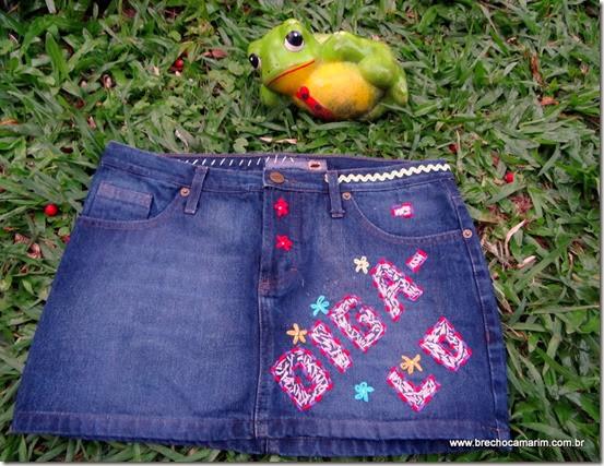 mini jeans brechocamarim