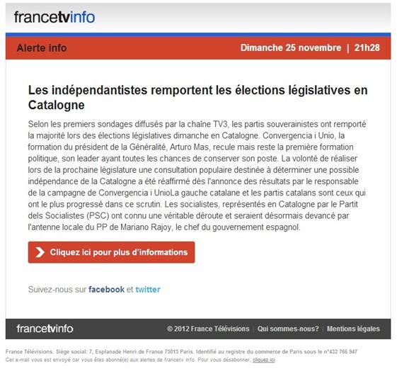 Resulta sus France TV