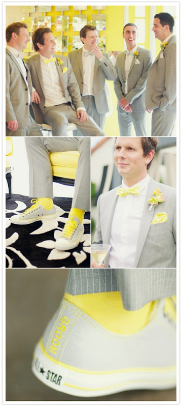 Semplicemente Perfetto yellow-grey-palms-springs-wedding-4