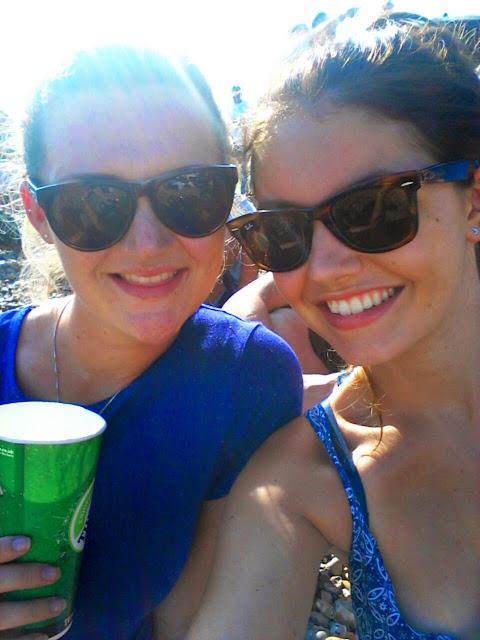 Best friends selfie Brighton beach
