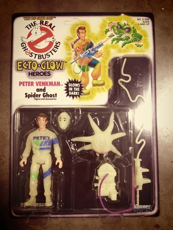 Ghostbusters ECTO-Glow Action Figures