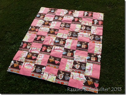 Turkish Delight quilt