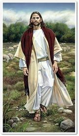 Jesus caminhando