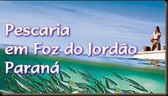 Pescaria em Foz do Jordão, Paraná