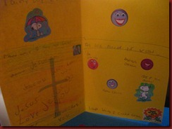 Madison's card impressed me!