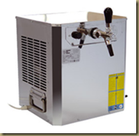 аппарат для розлива пива: охладитель сухого типа