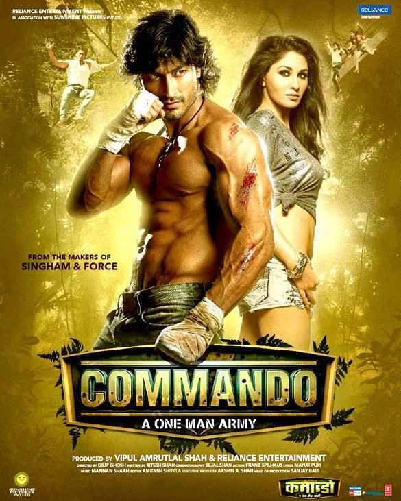 Get A Behind The Scene... Vidyut Jamwal In Commando One Man Army