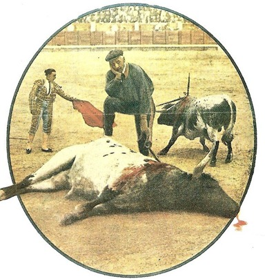 Joselito 15-05-1920 Último toro en Madrid 001