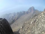 View south from Rinjani peak (Dan Quinn, November 2013)