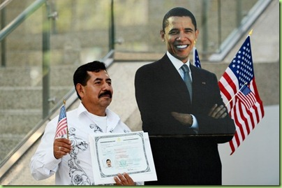 garcia gets his citizenship papers from obama