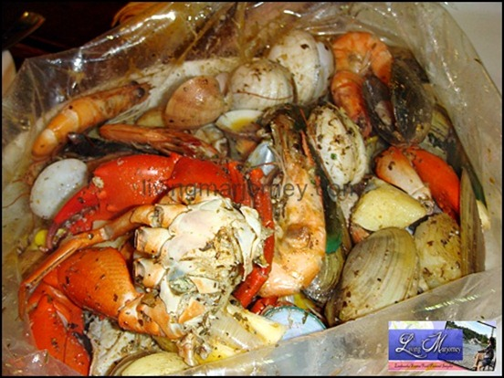 Seafood Boil In a Bag Clawdaddy Spice (P1,495.00)