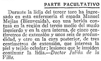 1910-07-11 (p. ABC) Parte facultativo