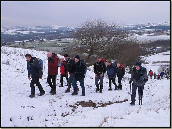 Ascending Harden Moor