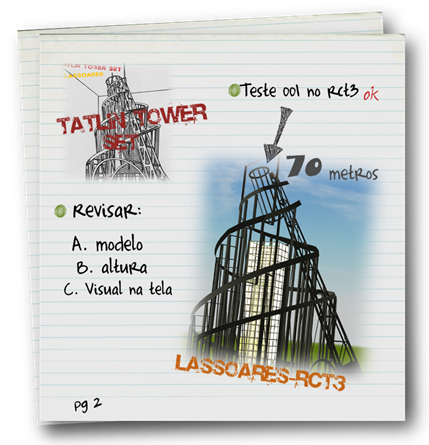 Tatlin Tower Set (lassoares-rct3)