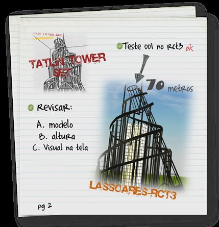 Tatlin Tower Set (lassoares-rct3)