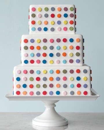 Amazing polka dot cake.