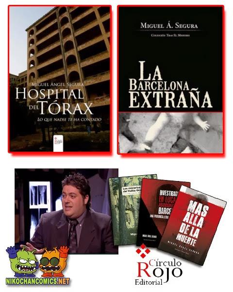 Libros de investigación de Miguel Ángel Segura