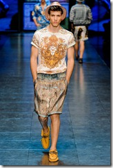D&G Menswear Spring Summer 2012 Collection Photo 5