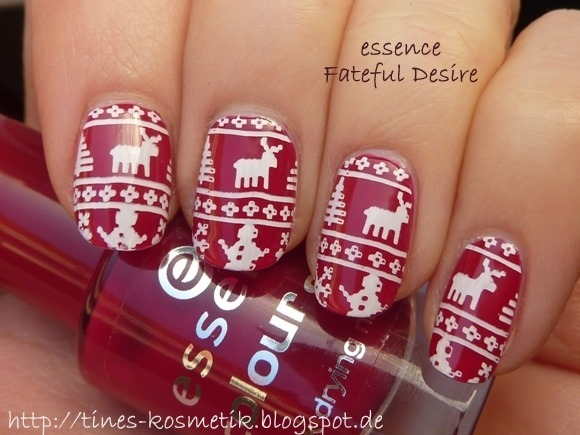 Winter Sweater Stamping 2