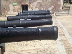 Fort Jesus Canons