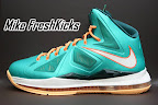 nike lebron 10 gr miami dolphins 4 04 Gallery: Nike LeBron X Miami Setting or Dolphins if you Like