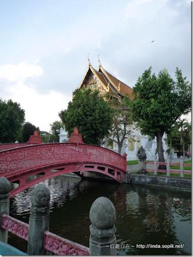 泰國曼谷-大理石寺小橋流水