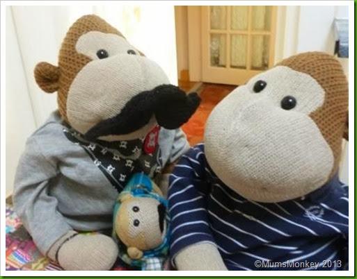 Movember Monkey's Face revealed