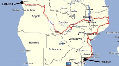 Mapa Geral-Bilene
