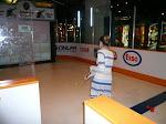 JB going top shelf, Hockey Hall of Fame