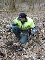 Detectiewerk door Aaldert Huisman van de AWN (Archeologische Werkgemeenschap Nederland) afd. Staphorst