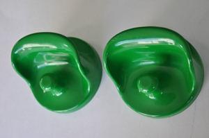 Olaf von Bohr 4702 hook for Kartell, green