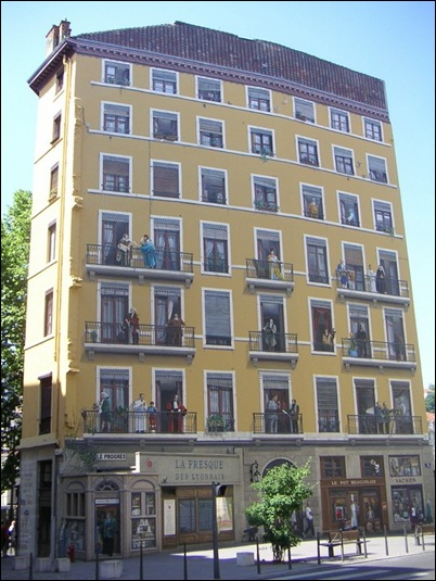 bijzonder gebouw in Lyon3