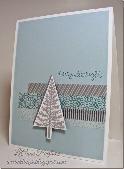 LeAnne Pugliese WeeInklings Festival of Trees Stampin Up Christmas