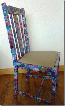 Decopatched Chair