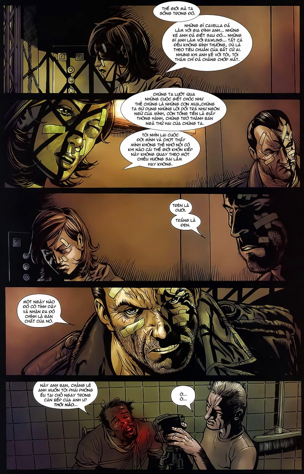 The Punisher: Trên là Dưới & Trắng là Đen chap 6 - Trang 15