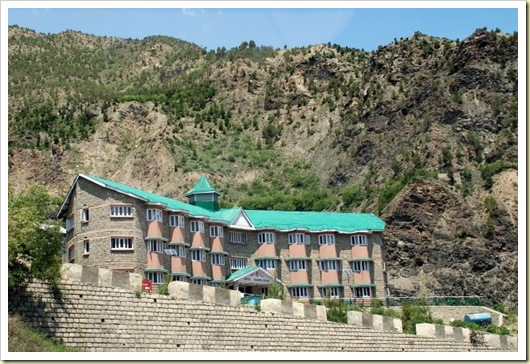 Hour hotel in Keylong. HPTDC has hotels at best location, but talk about service or quality of food.