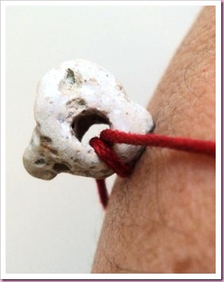 Holey Stone Charm Bracelet