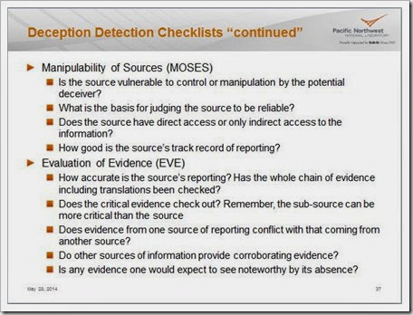 Week 7 Deception Detection 2