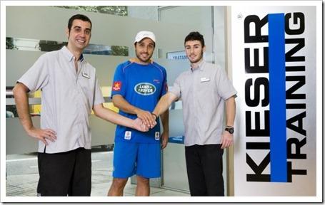 Kieser Training ha creado un protocolo de exploración física orientada al pádel
