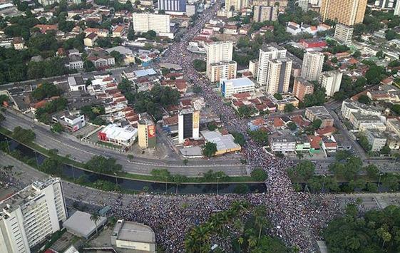 Protesto em Recife - 20-06-2013