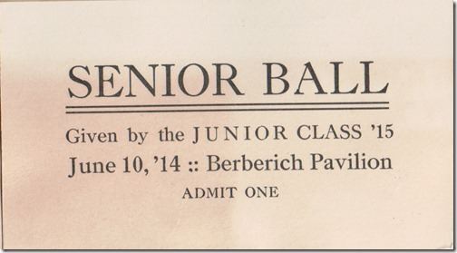 Hollister Senior Ball Ticket