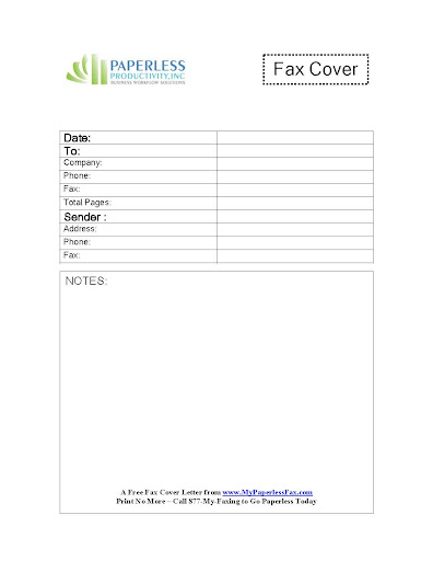 Standard Fax Cover Sheet Template Free Business-fax-cover-letter-form