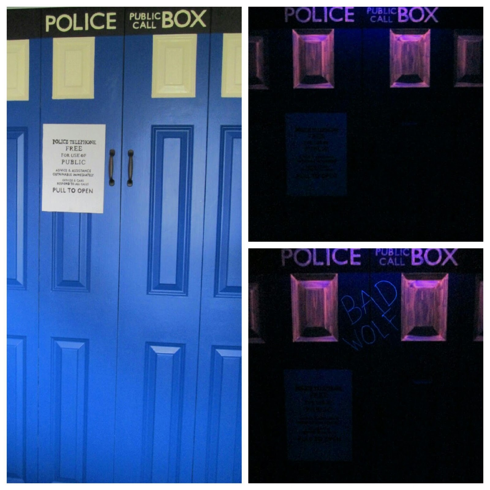 latest facet of my room This is probably one of the most amazing projects I  ve. Tardis Blue Paint Lowes